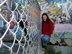 Chantal & Graffiti Wall
