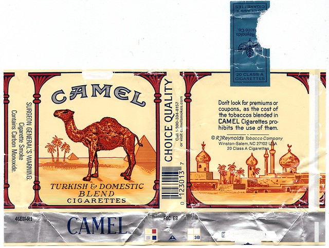 Sign up for camel cigarette coupons