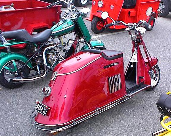 Custom Cushman Scooters Car Interior Design