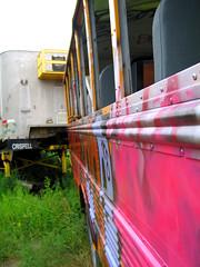 Staging Area - School Bus - Facade Detail