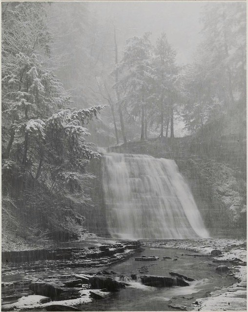 Waterfall, 1958, by Minor White