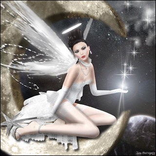 Angel Dessous - Angel of July - Amita Yorcliffe in Starry Nights Theme