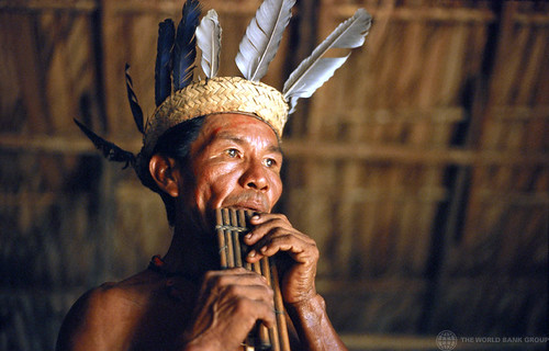 A member of the Tariana tribe in the Amazon region of Brazil