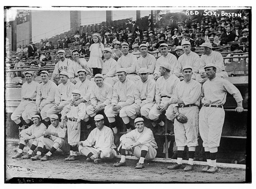 [Boston Red Sox team photo at 1912 World Series (baseball)] (LOC) by The Library of Congress