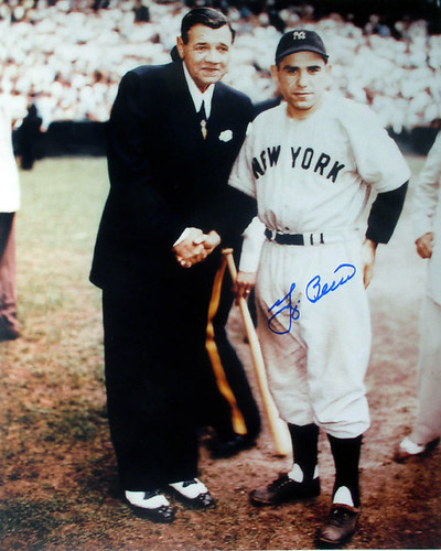Babe Ruth & Yogi Berra by Moonstruck Video & Photo