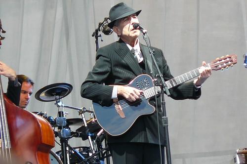 Leonard Cohen representerer alt annet enn eraskt forbruk. (Foto: Jonnl1973/flickr)