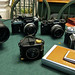 My Cameras through the years. by Bill Oriani