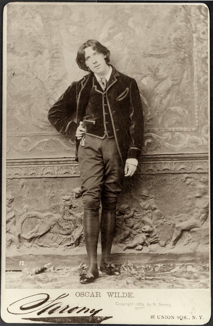 Oscar Wilde from Flickr via Wylio