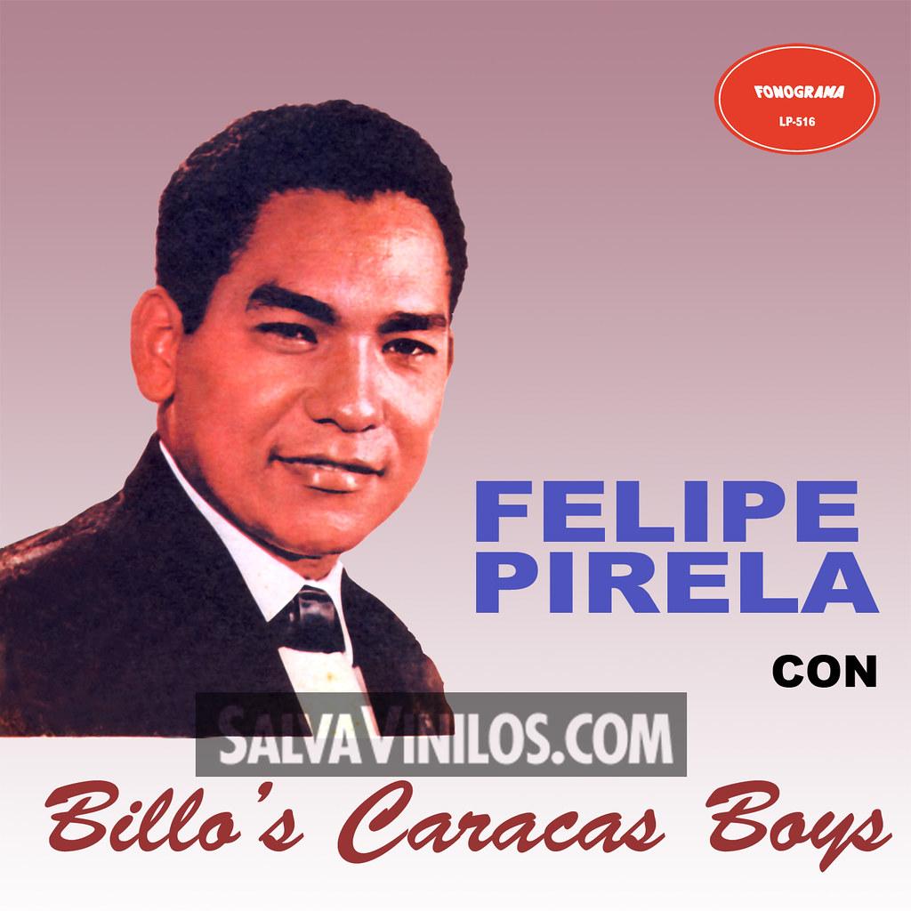 Felipe Pirela - con Billo's Caracas Boys - Portada [Año ... Felipe Pirela