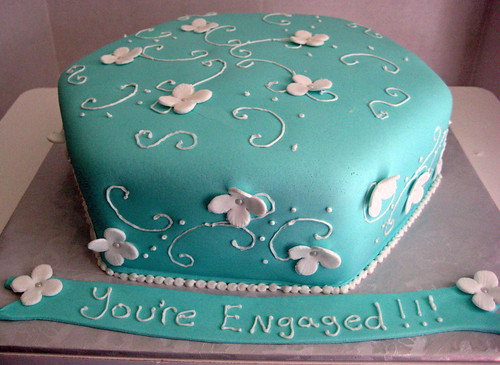 Cakes By Shara: Engagement cake