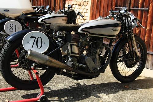 Norton vintage motorcycle racer :: eu-moto © Egger 5915