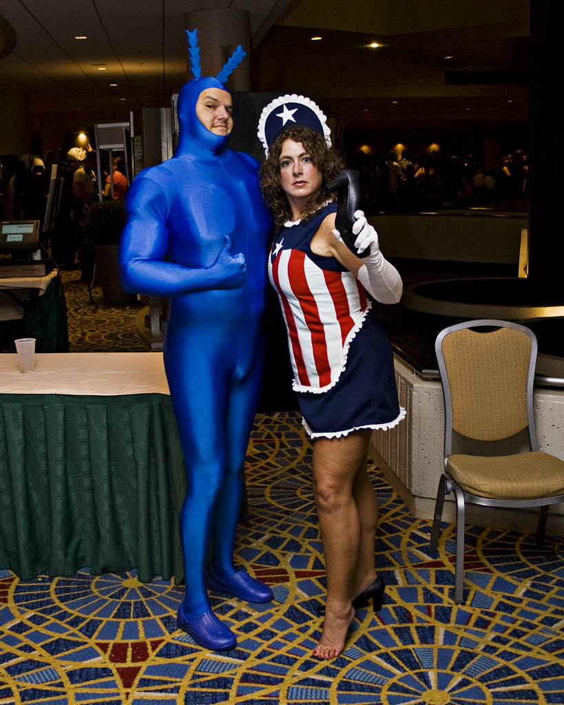 The Tick And American Maid