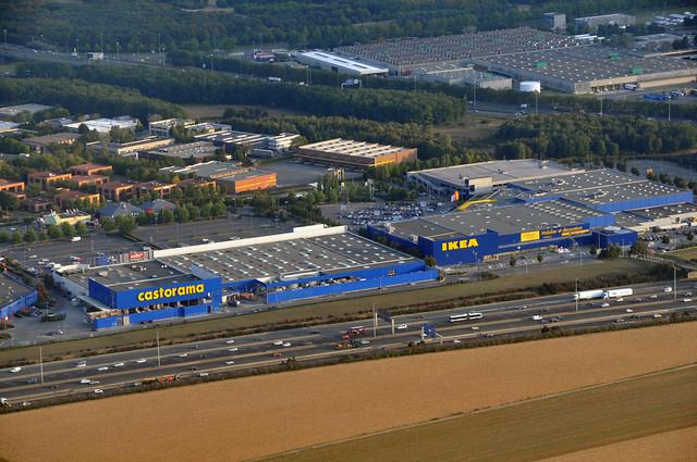 Castorama et ikea dans une zone industrielle cot de l 39 a roport de roissy flickr photo - Castorama paris nord ...
