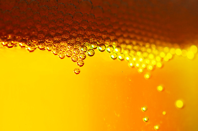 Beer bubbles 1