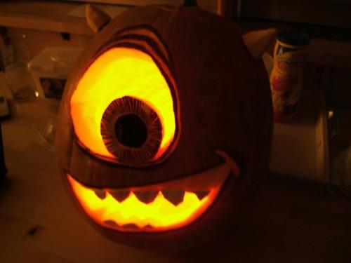 monsters inc pumpkin | Explore Kim Dowsett Taylor's photos ...