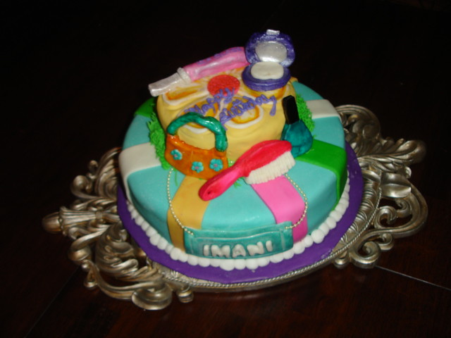Spa Themed Cakes http://www.flickr.com/photos/27546655@N03/2999577293/