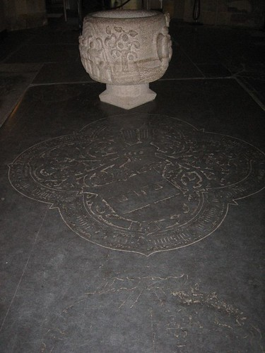 Tombstone of Johan Proys, Dom church, Utrecht