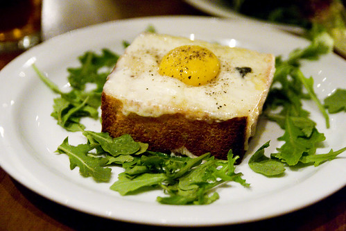 Truffled Egg Toast with Fontina Cheese