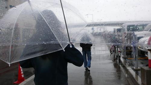 Hakodate - raining