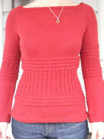 FREE BOAT NECK KNITTING PATTERNS - VERY SIMPLE FREE KNITTING PATTERNS