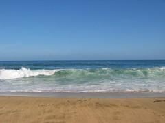 Sky Water Sand