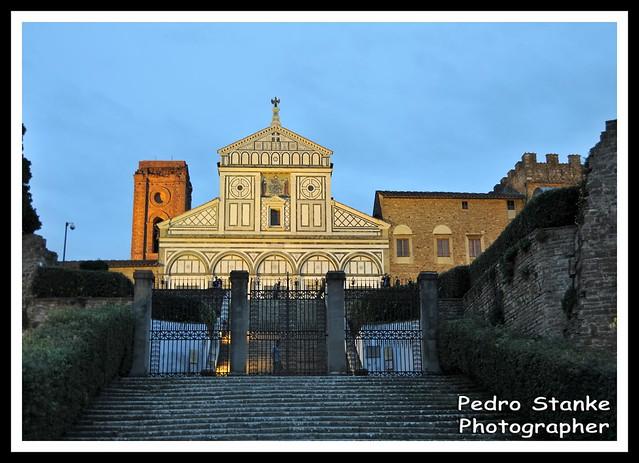 Basilic San Miniato al Monte - Firense, Italy