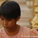 Girl at Shwedagon Pagoda - Rangoon, Burma (Yangon, Myanmar)