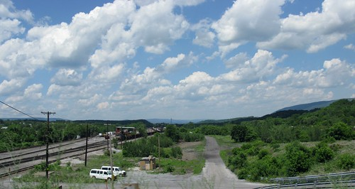 sky usa clouds us unitedstates pennsylvania trains pa railways railroads altoona blaircounty