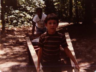 Ken at Camp Glenkirk