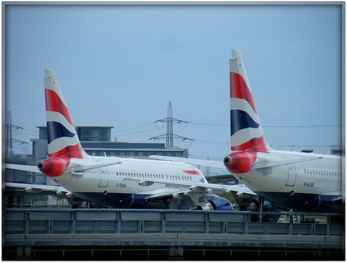 Wonderful London City Airport -LCY- @ The Docklands in the Eastend / London - England - UK - Happy flights and discoveries forever!:)
