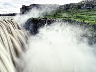 Denttifoss waterfall  - Iceland