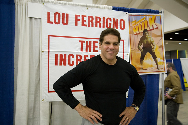 Lou Ferrigno (The Incredible Hulk)