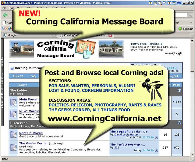 personals in corning california