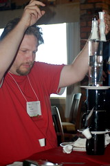 Chris Brogan at Lunch - PAB2008