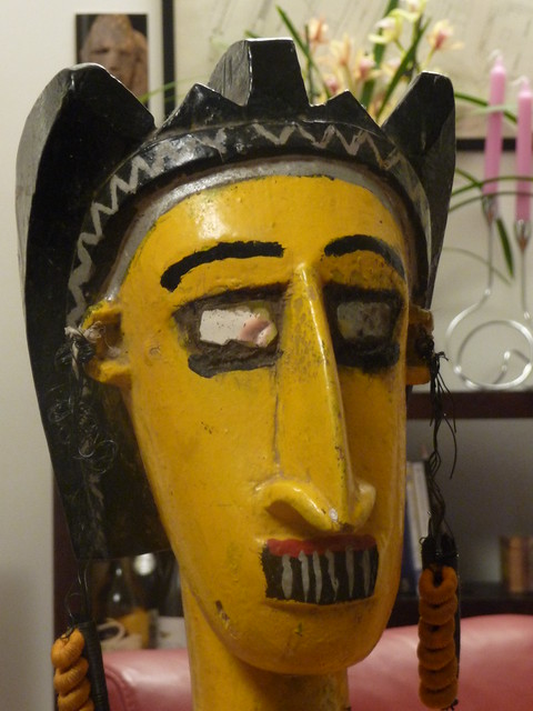 Statue Bozo, Galerie Khenghavars