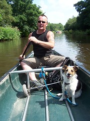 Canoeing along Rochdale canal and the River Calder.