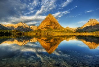 A Perfect Morning at Glacier National Park