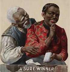 A sure winner, tobacco advertising, ca. 1895