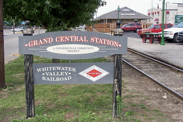 Grand Central Station Connersville Indiana Flickr