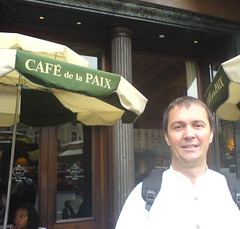 Andreas H Landl Cafe de la Paix paris