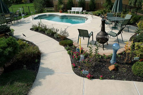 Freeport 12a viking pools free form design pool for Pool designs yardville nj