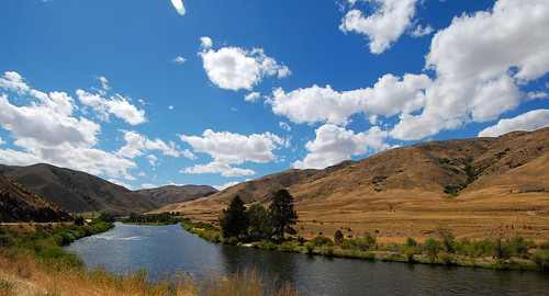 summer vacation sky clouds river landscape nikon idaho 2008 1224mm mccall nikond40