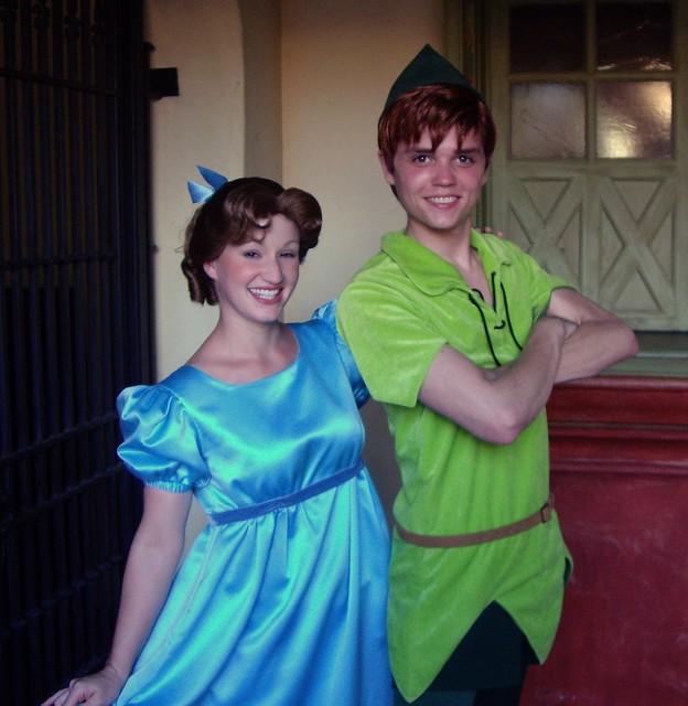Peter Pan and Wendy Darling | Flickr - Photo Sharing!