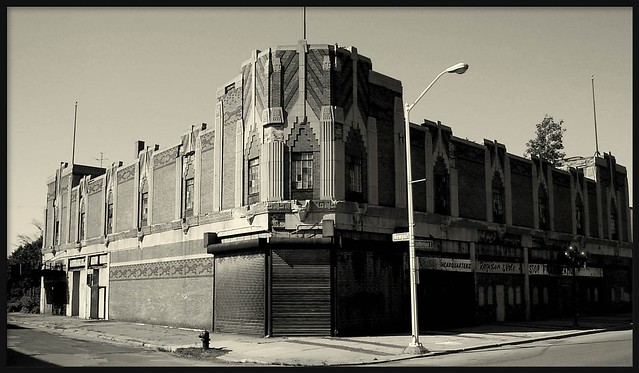 Vanity Ballroom (Alternative B&W Version)--Detroit MI