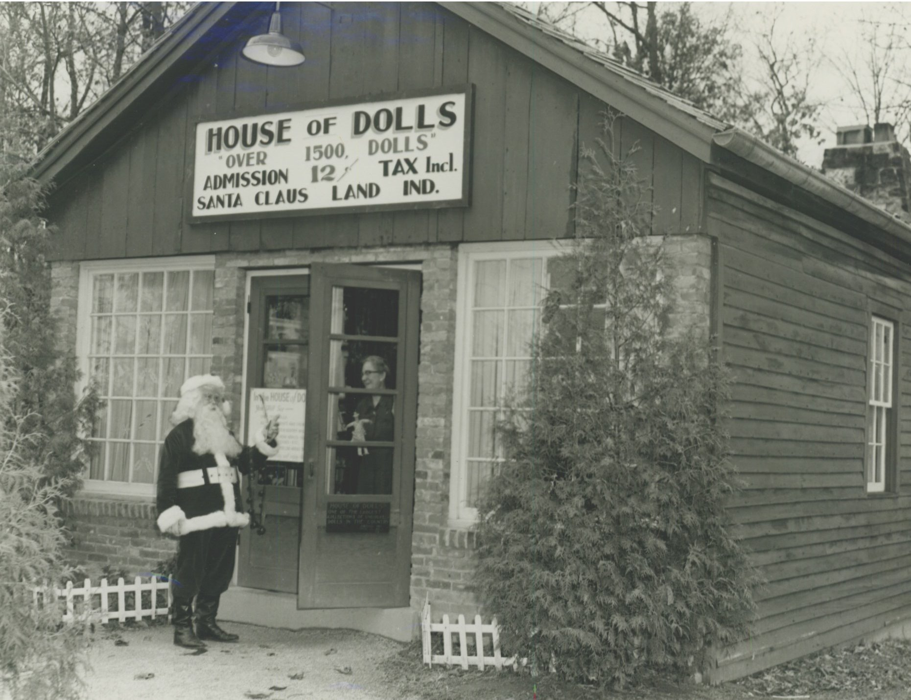 The original Santa Claus Post Office