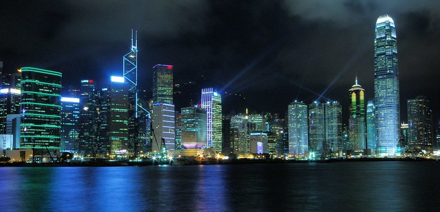 Hong Kong - Central Skyline