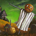 scarecrow oil Painting