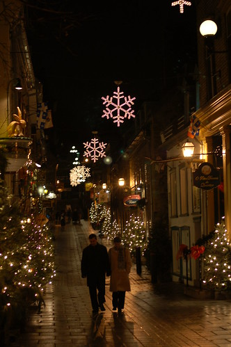 Walk along Rue Petit Champlain, Quebec City