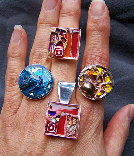 Mosaic Jewelry | Flickr - Photo Sharing!