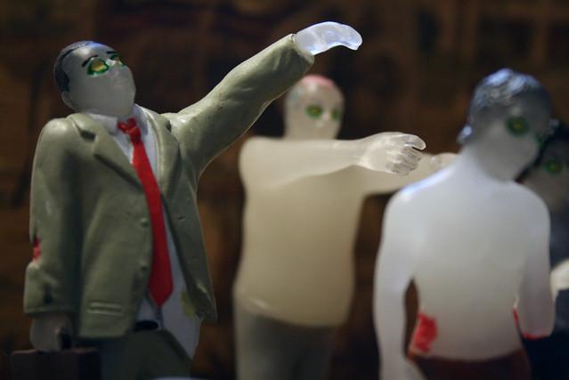 businessman zombie